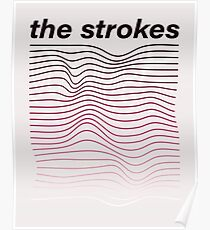 The Strokes Waves Poster