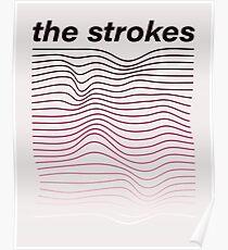 Die Strokes-Wellen Poster