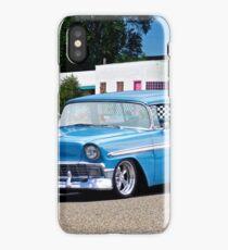 1956 Chevrolet 'True Blue' Nomad Wagon I iPhone Case