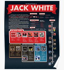 Jack White Infographic Poster