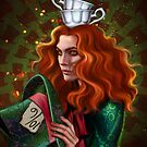 Mad Hatter by Salome Totladze