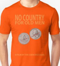 No Country For Old Men Minimalist Design Unisex T-Shirt