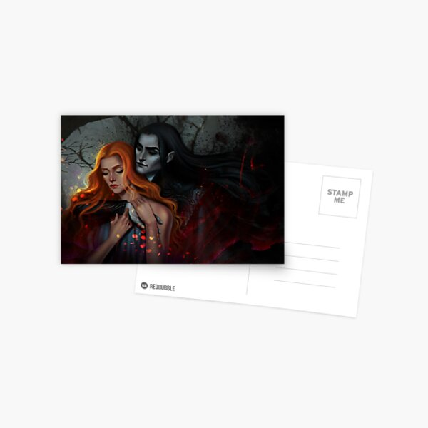 Hades and Persephone  Postcard