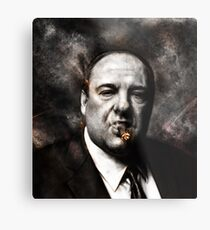 The Sopranos - Tony Soprano  Metal Print