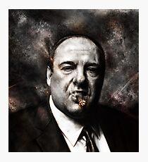 Die Sopranos - Tony Sopran Fotodruck