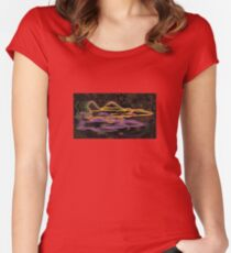 ARTSHAMAN001 Women's Fitted Scoop T-Shirt