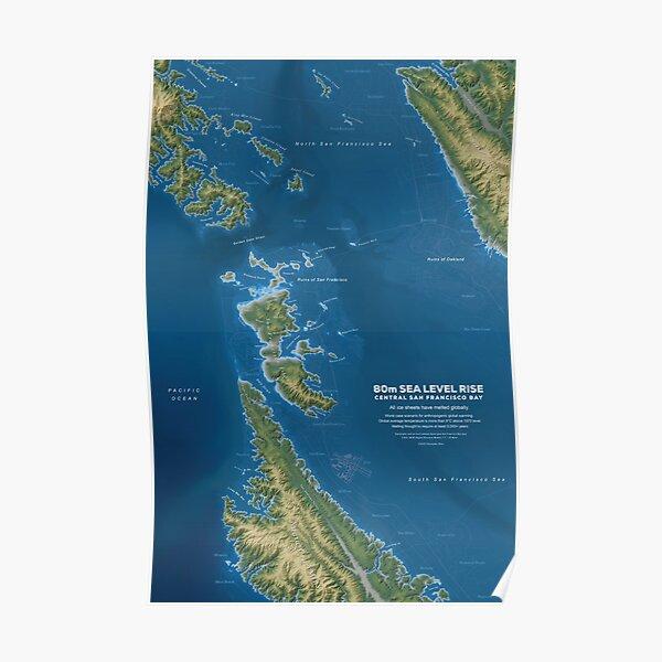 Bay Area Sea Level Rise Poster