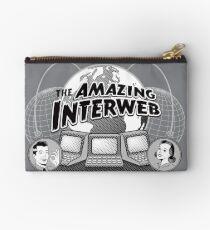 The Amazing Interweb Zipper Pouch