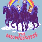 Four Horsemittens Of The Meowpocalypse by wytrab8