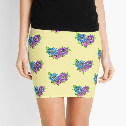 Gerber Daisies Mini Skirt