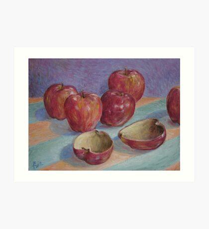 Empty Fruit Art Print