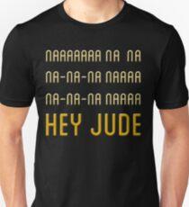 Print Hey Jude Unisex T-Shirt