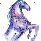 Dapple Galaxy Horse by RavensLanding