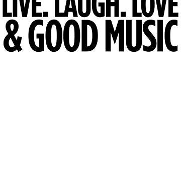 Good Music Art Music Hipster Lyrics by ShieldApparel