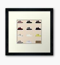 Lámina enmarcada Exhibición de Yeezy