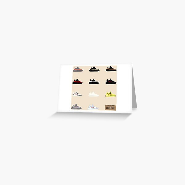 Yeezy Display Greeting Card