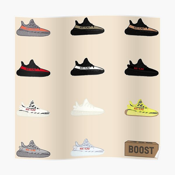 Yeezy Display Poster