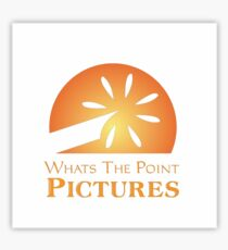 Whats the Point Pictures Sticker
