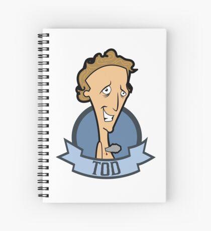 Tod Spiral Notebook