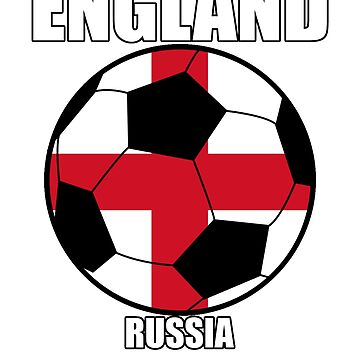 England Russia 2018 World Cup by terminaltees