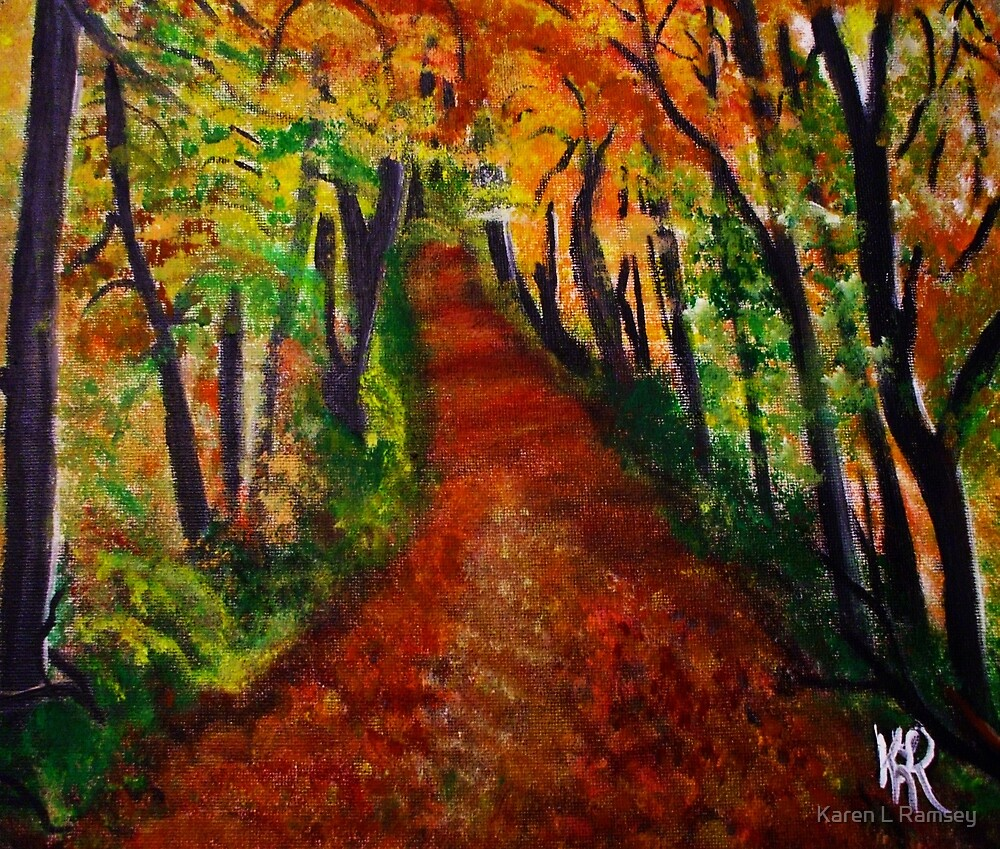 Autumn Trail by Karen L Ramsey