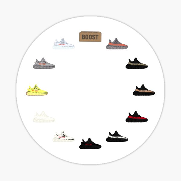 Yeezy Clock Sticker