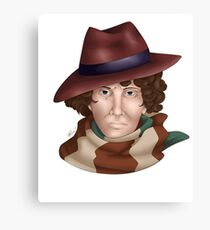 Tom Baker Canvas Print