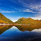 Lake Plimsoll Reflections by Peter Daalder