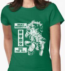 My Hero Academia - Izuku Midoriya Women's Fitted T-Shirt