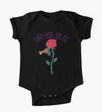 Every Rose Has Its Horn One Piece - Short Sleeve
