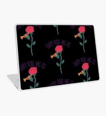Every Rose Has Its Horn Laptop Skin