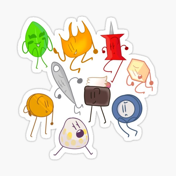 The losers - Bfb Sticker