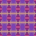 Triangle Pattern by KaleiopeStudio