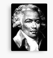 Chevalier de Saint-Georges - the First Black Composer Canvas Print