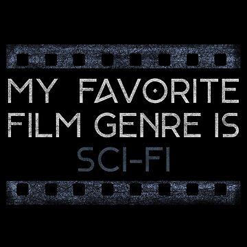 My favorite film genre is Sci-fi by sub7anallah