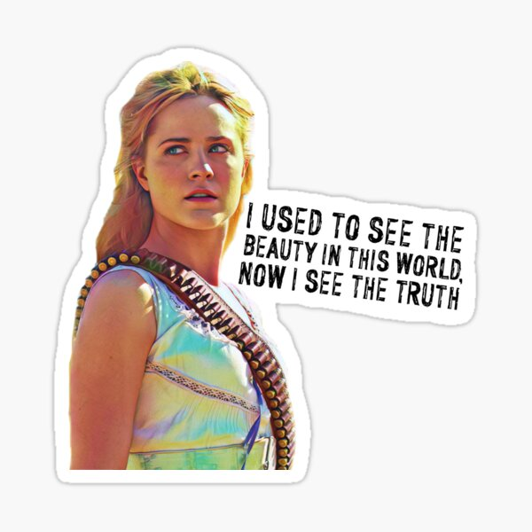 Westworld Dolores Sticker