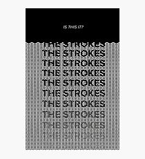 THE STROKES: IS THIS IT? Photographic Print