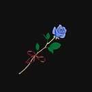 Blue Rose by SaylorDoone