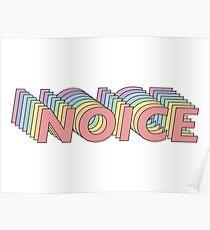 Brooklyn Nine Nine Noice Poster