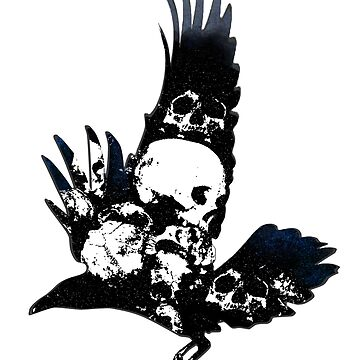 Crows and Skulls by dariasart