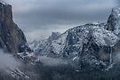 Yosemite Late Winter Snow by photosbyflood