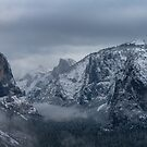 Yosemite Late Winter Snow by photosbyflood