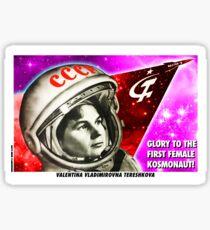 Valentina Tereshkova Sticker