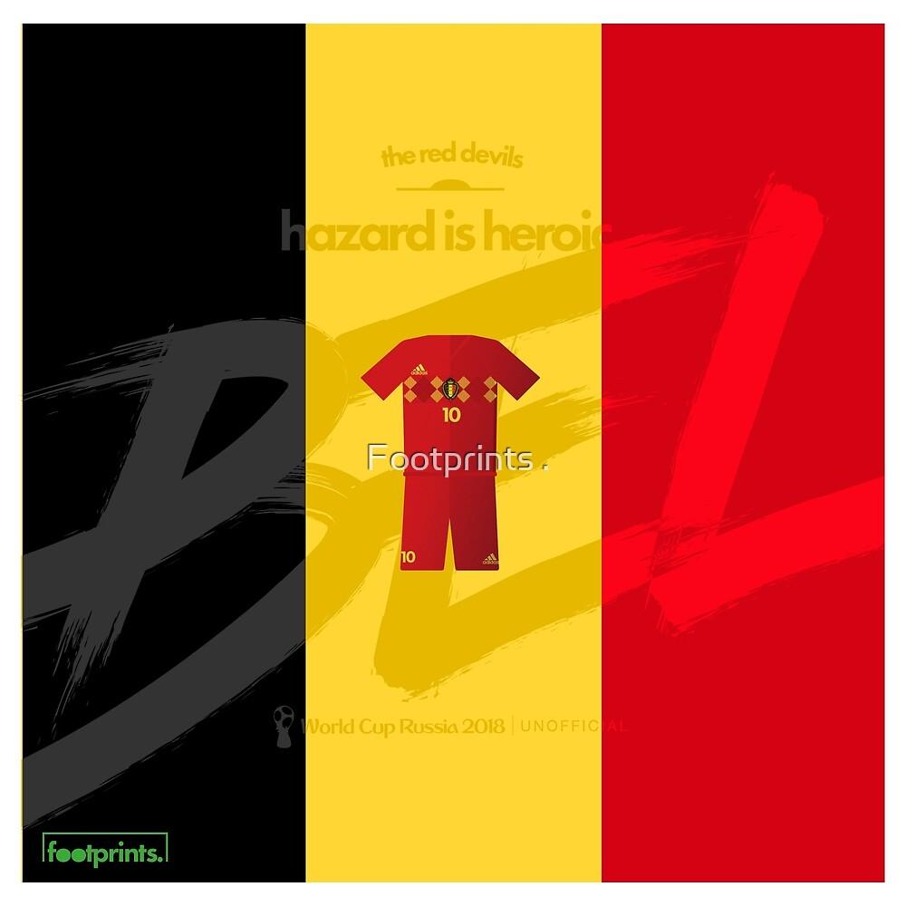 World Cup 2018 Hazard is Heroic - Belgium\