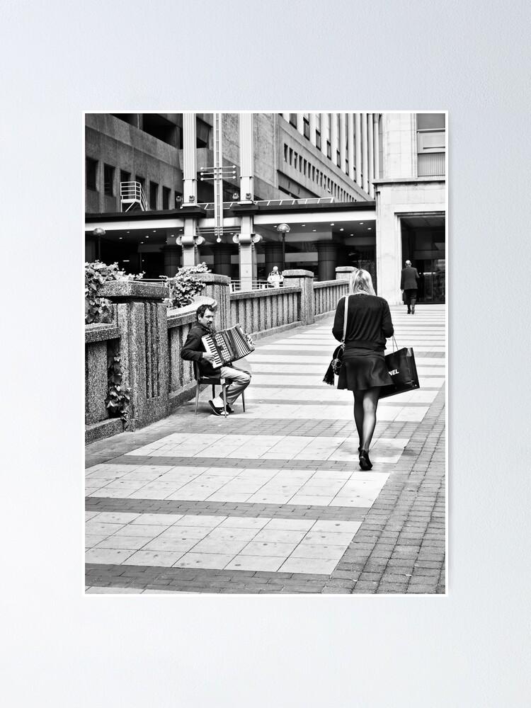 Alternate view of Shopping Begging Poster