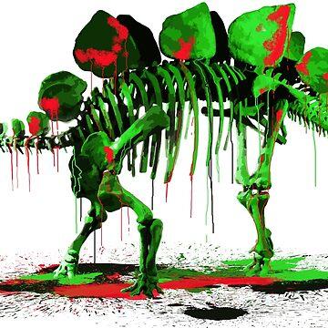 Drip Dry Stegosaurus by siege103
