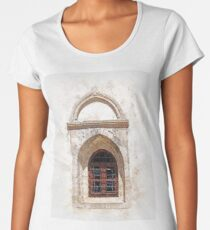 Beautiful Ancient Window Women's Premium T-Shirt