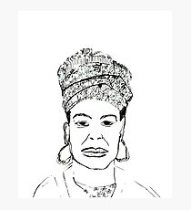 Maya Angelou Photographic Print
