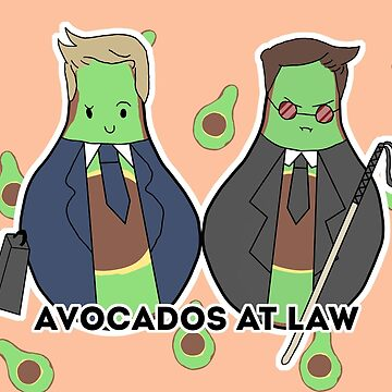 Avocados at Law! by amestre