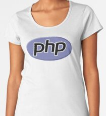 PHP: Hypertext Preprocessor Logo (New) Women's Premium T-Shirt